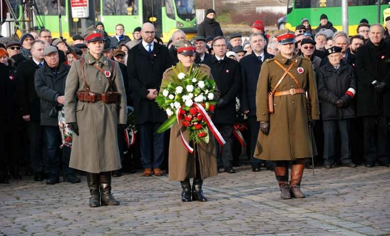 Obchody 99 Rocznicy Wybuchu Powstania Wielkopolskiego Poznan 27 Grudnia 2017 Aktualnosci Instytut Pamieci Narodowej Poznan